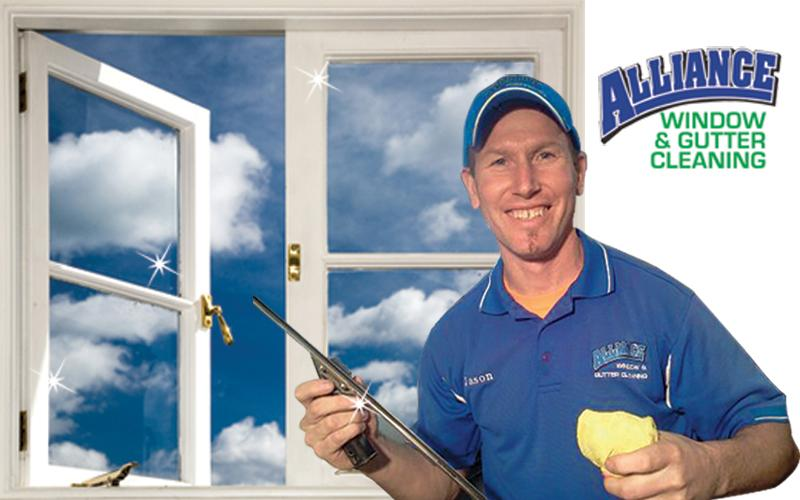 Alliance Window & Gutter Cleaning - Window Cleaning Offer