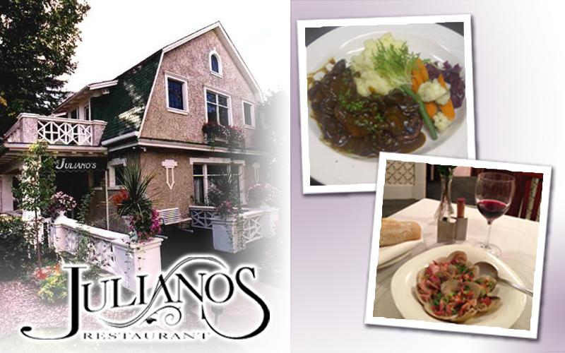 Juliano's - $25.00 Gift Certificate for $20