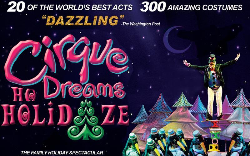 Metrapark - Admission to Cirque Dreams Holidaze