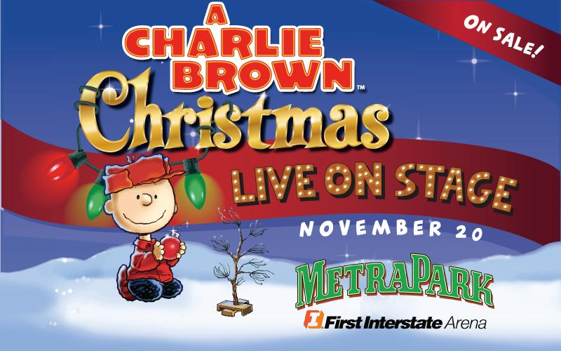 Metrapark - Admission to A Charlie Brown Christmas Live on Stage