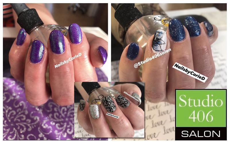 Studio 406 Salon With Corie Draine - Shellac/Gel Polish Manicure
