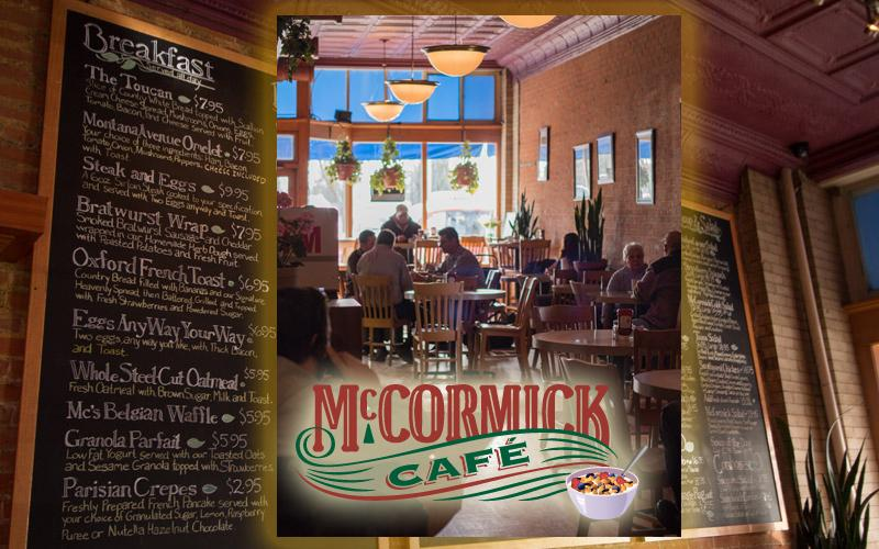 Mccormick Cafe - $30 gift card
