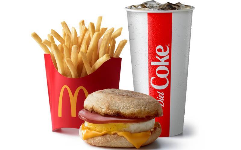 McDonald's - Get FOUR Medium Combo Meals