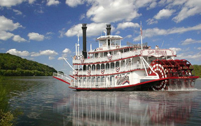 Spirit Of Peoria - Pair of Adult Sightseeing Tickets Aboard The Spirit of Peoria!