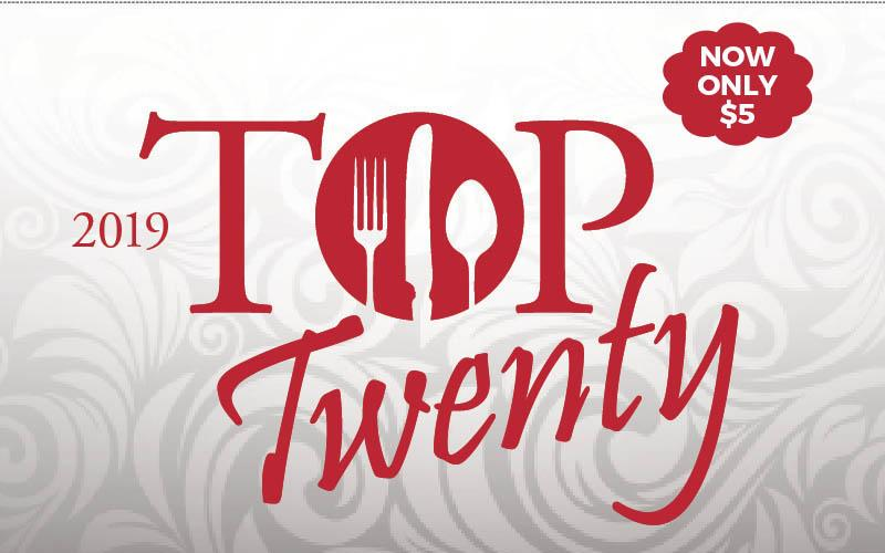Top 20 Dining Card - The Southern Illinoisan - The Southern Illinoisan's 2019 Top Twenty Dining Card
