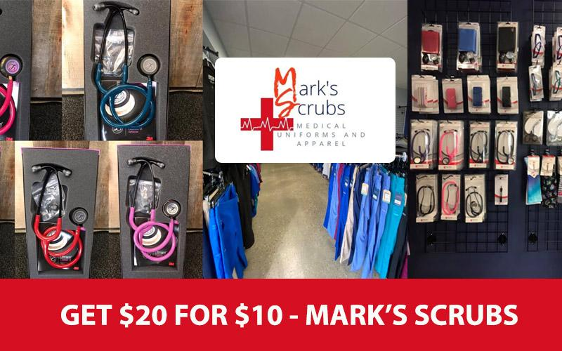 Mark Scrubs - Medical Uniforms And Apparel - Get a $20 gift card for $10