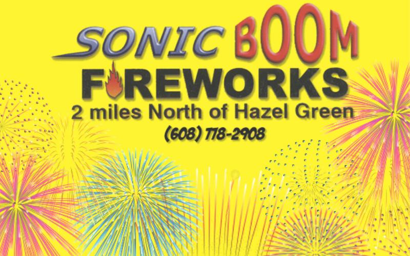 Sonic Boom Fireworks - Over 50% Off At Sonic Boom Fireworks!