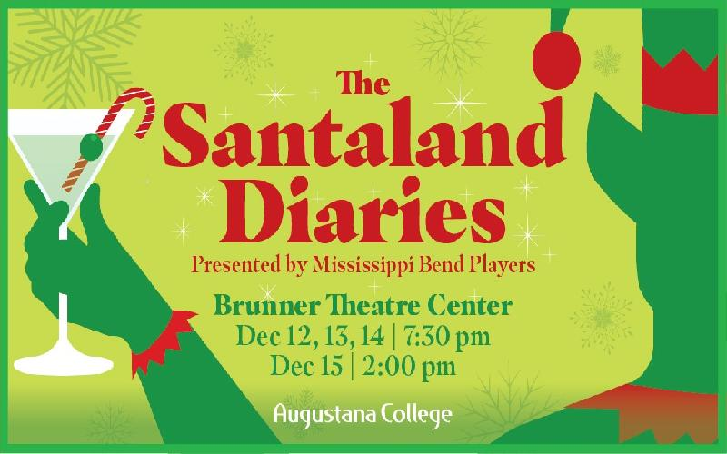 Mississippi Bend Players - Santaland Diaries  Ticket $10 ($20 Value)