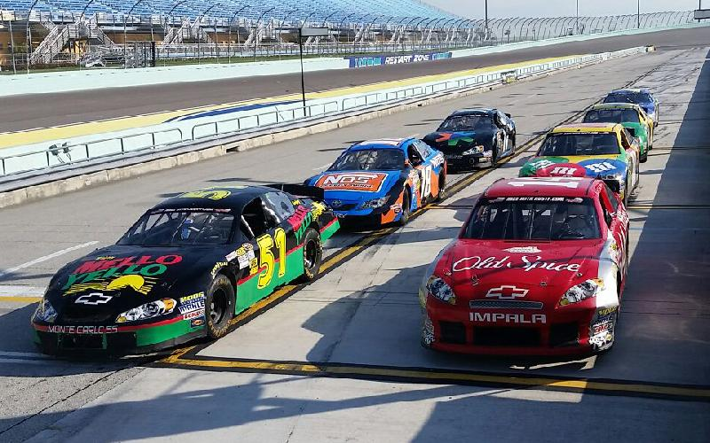 Rusty Wallace Racing Experience - 4 Lap Drive in a Stock Car or a 5 Lap Drive ins an Exotics for $149