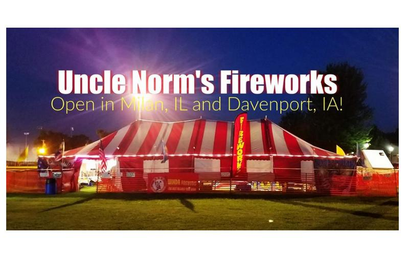 Uncle Norm's Fireworks - 50% off on purchase of 1 cake (550 gram Bomb Series)