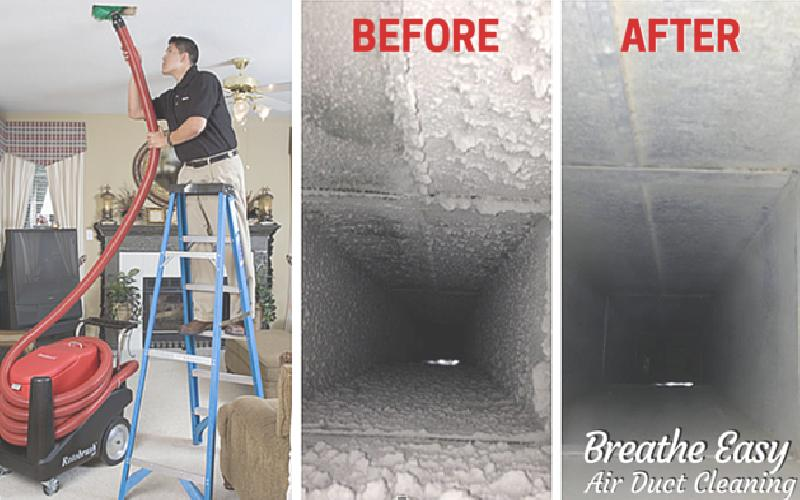 Breathe Easy Air Duct Cleaning - Breathe Easy Air Duct Cleaning $139 Package!