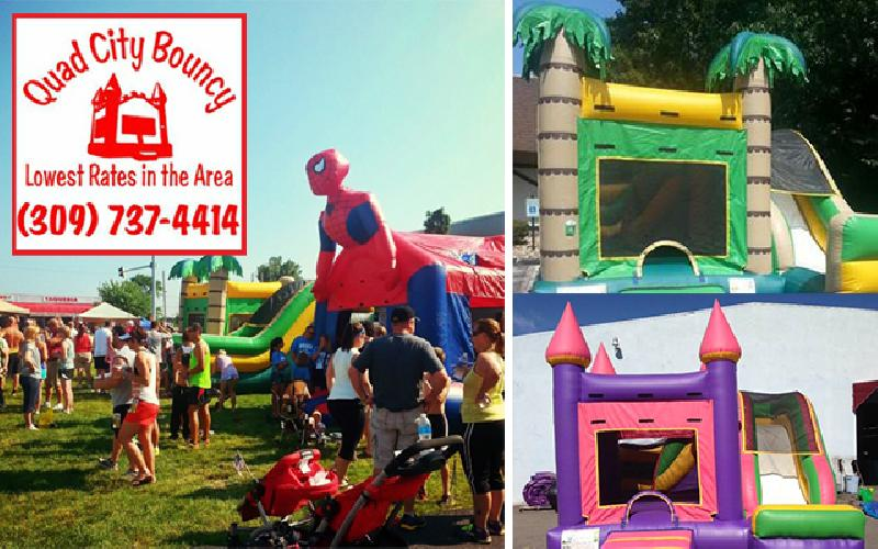 Quad City Bouncy - Bounce House Rental $99 Value for $49