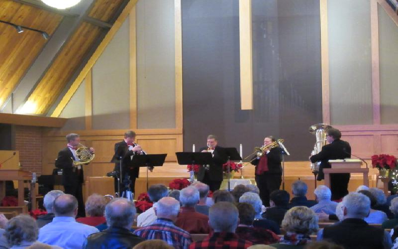 Nebraska Brass - Brass in Time: A Musical Journey Through the Ages