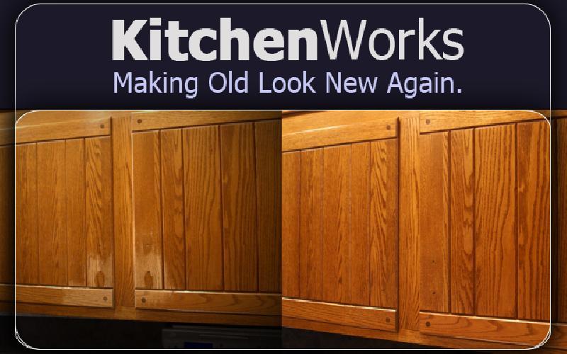 Kitchen Works - $2,500 Kitchen Cabinet Restoration for $500