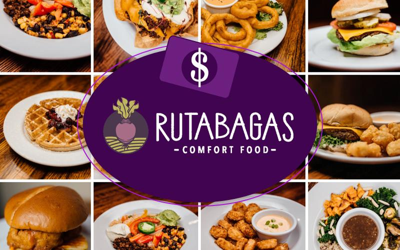 Rutabagas - Rutabagas; $50 Value Gift Voucher for $25