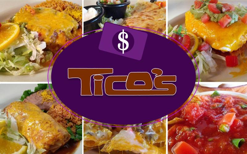 Ticos - Ticos: $50 Value Gift Voucher for $25