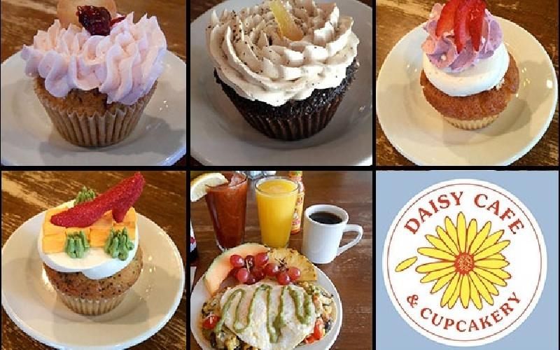 Daisy Cafe & Cupcakery - Two $10 Gift Certificates to Daisy Cafe for $10