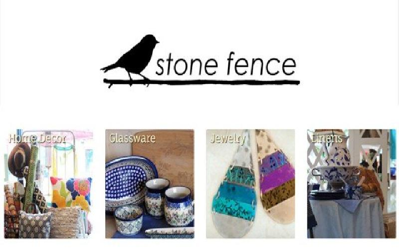 Stone Fence - $20.00 Gift Card to Stone Fence for $10.00!