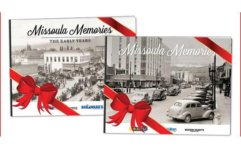 Missoulian - Missoula Memories - The Early Years hardcover pictorial history book for only $35