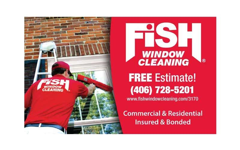 Fish Window Cleaning - $50 Fish Window Cleaning Gift Certificate for only $25