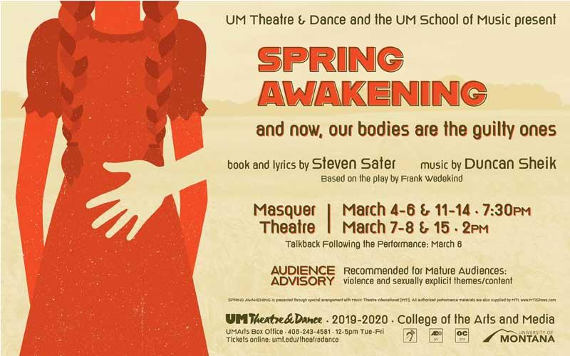 UM School Of Theatre & Dance - Good for TWO adult-price tickets to one performance of