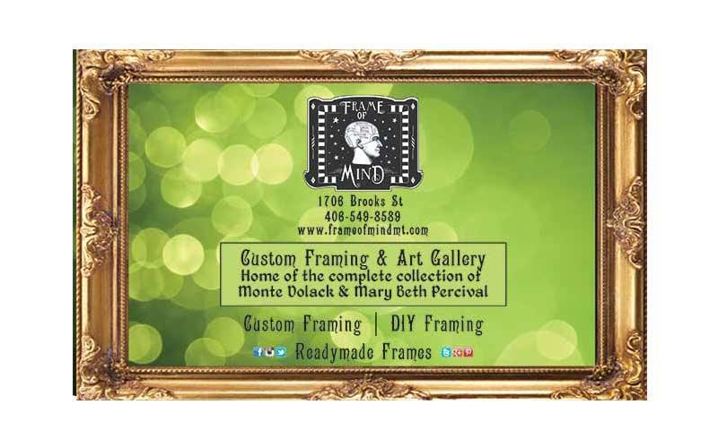 Frame Of Mind - $100.00 voucher for $50.00 good on your next custom frame job at Frame of Mind