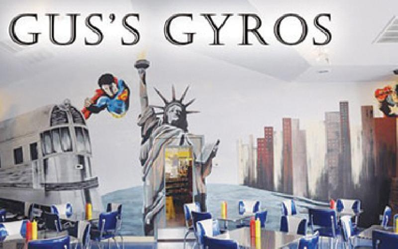 Gus's Gyros - $20 worth of food and drinks!