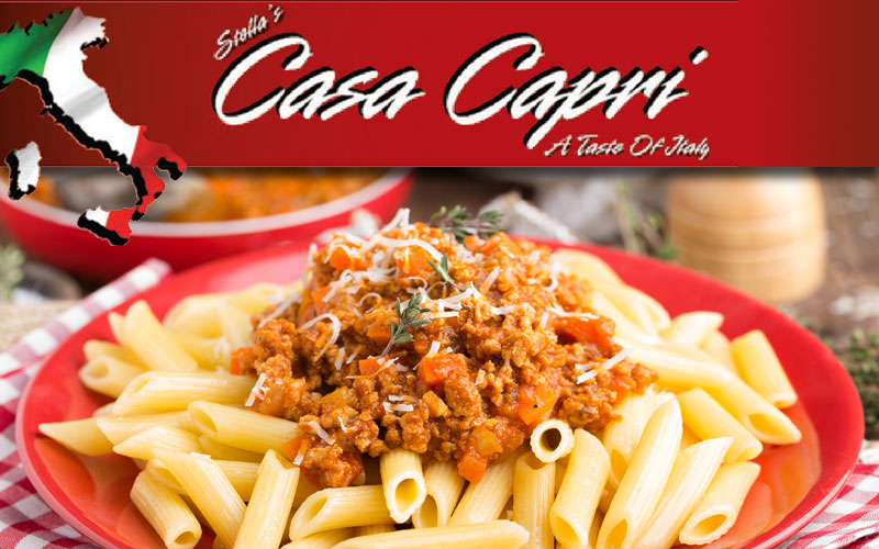 Casa Capri - $25 worth of food for only $12.50!