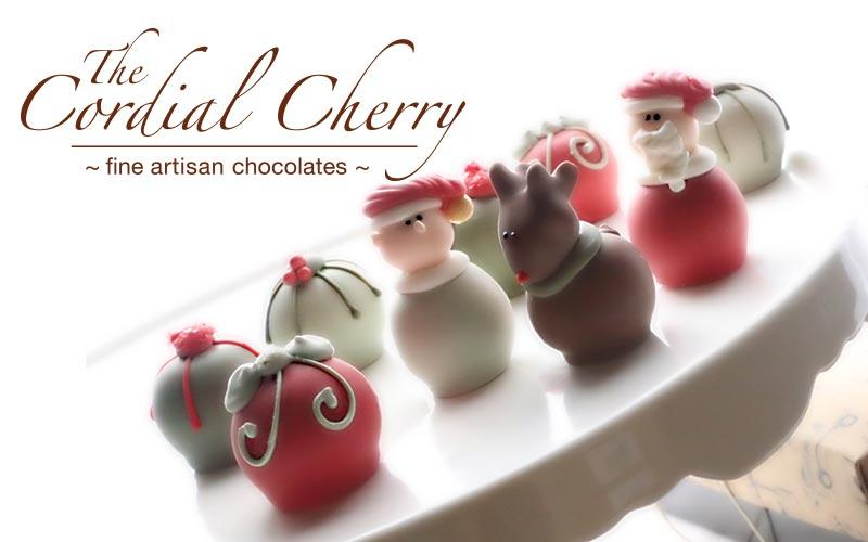 The Cordial Cherry - $10 for $20 for Designer Chocolate Truffles or Cordial Cherries at The Cordial Cherry