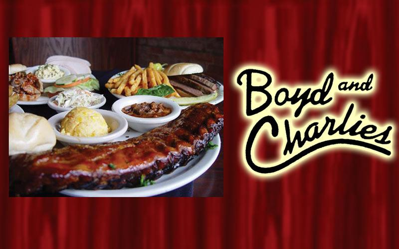Boyd And Charlies - $30 for $15 In Food & Drinks at Boyd & Charlie's