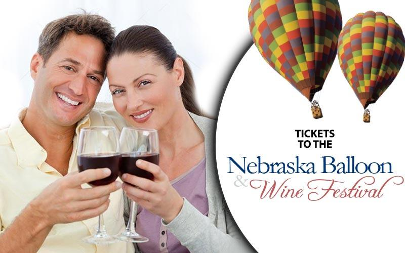 Mid-America Expositions, Inc. - ½ OFF COUPLES PACKAGE WITH VIP PARKING TO NEBRASKA BALLOON & WINE FESTIVAL