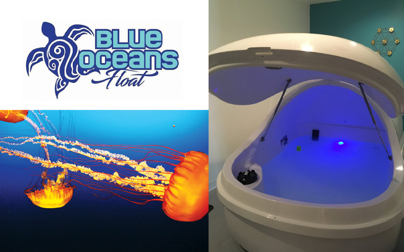 Blue Oceans Float - Two Sixty Minute Floats at Blue Oceans Float!