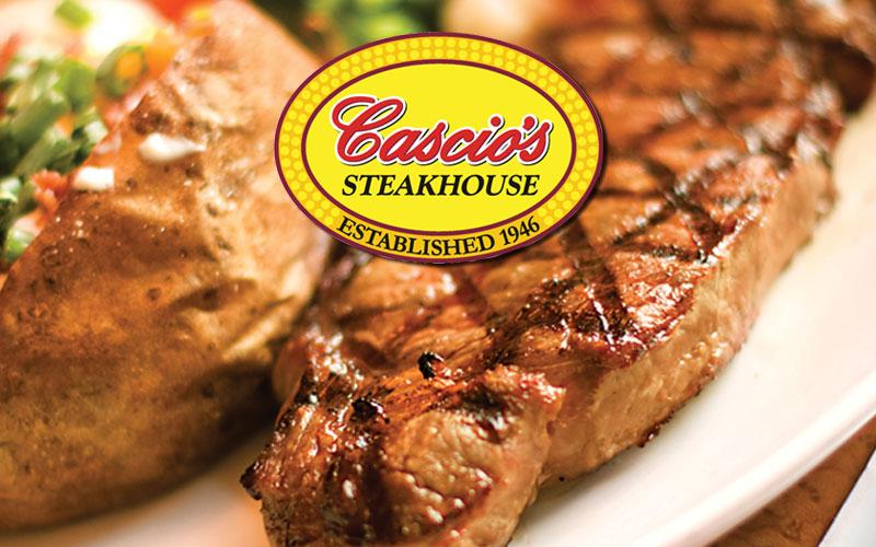Cascio's Steakhouse - $50 in Food & Drink for $25 at Cascio's Steakhouse!