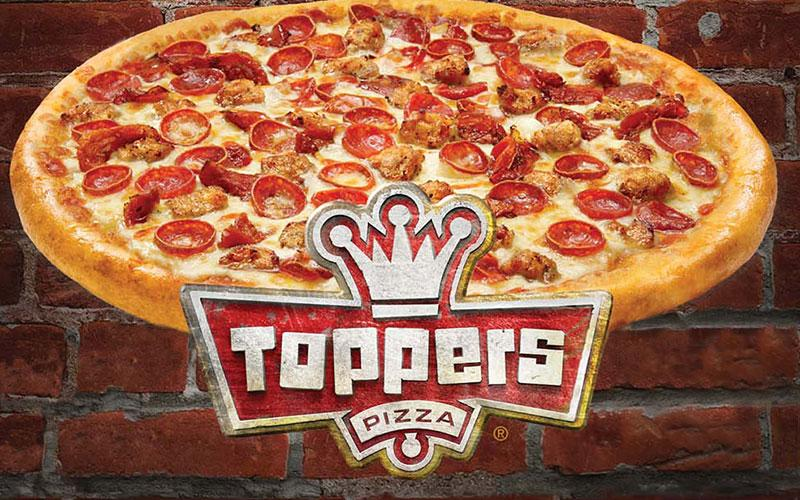 Toppers Pizza - $10 for $20 worth of any delicious Toppers Pizza menu item at all 3 locations!