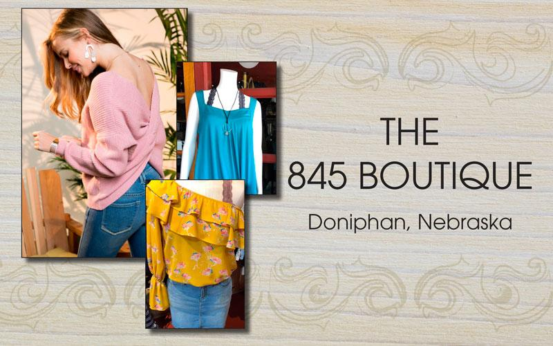 The 845 Boutique - $25 Voucher for Only $12.50 to 845 Boutique