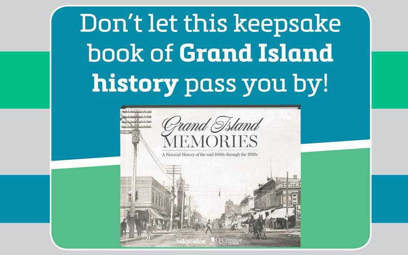 Grand Island Independent - $25 for $45 Grand Island Memories Book