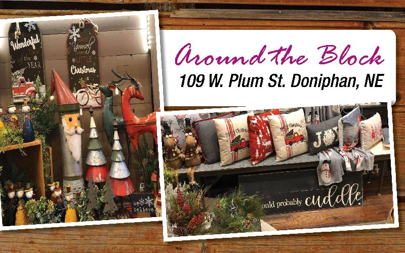 Around The Block - Holiday Season Is Here! Get great home decor and gifts for great prices at Around The Block!