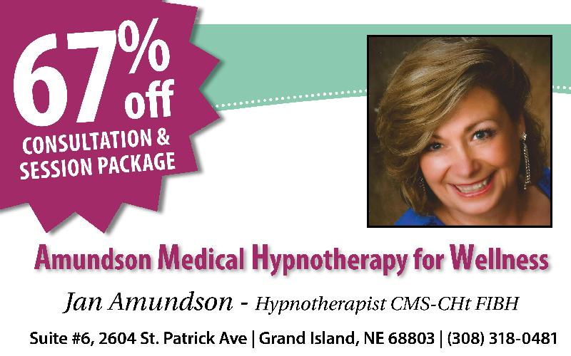 Amundson Medical Hypnotherapy For Wellness - 67% off Consultation & Session Package of Medical Hypnotherapy!