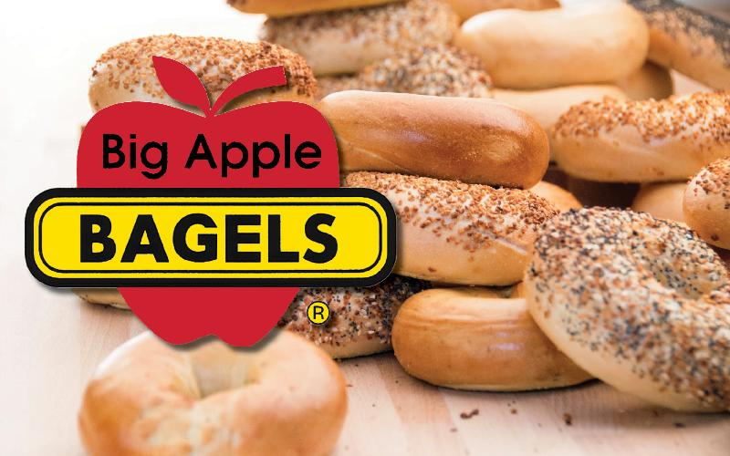 Big Apple Bagels - Treat yourself to this Big Apple Bagel Deal!