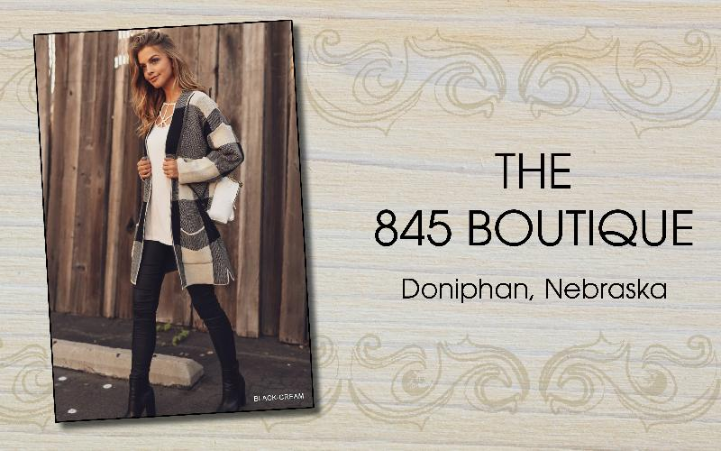 The 845 Boutique - Get great warm winter fashions and gifts for great prices at The 845 Boutique!