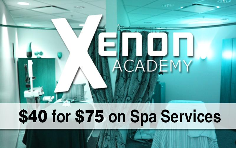 Xenon Academy - $40 for a $75 Voucher Towards Spa Services at Xenon