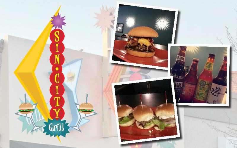 Sin City Grill - $20 Voucher to Sin City for only $10