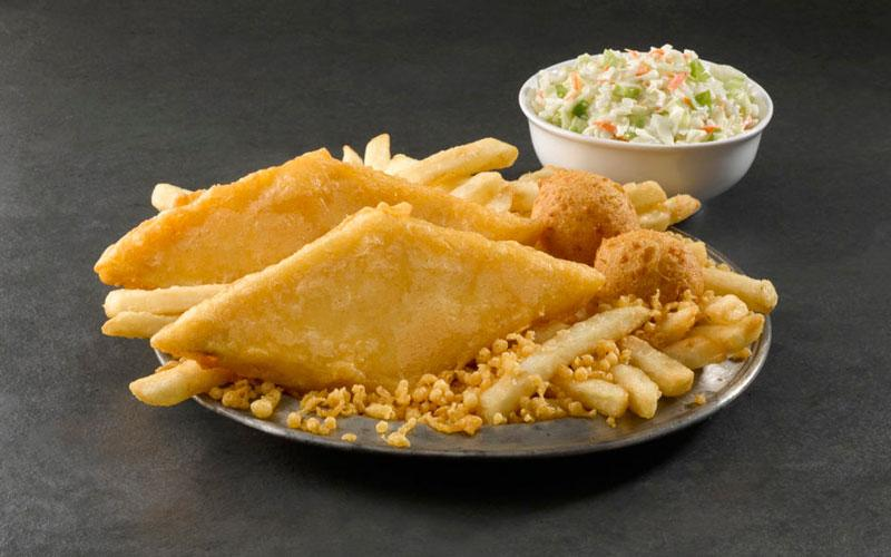 Long John Silver's - Delicious seafood and chicken for half the price!