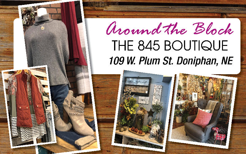 Around The Block/845 Boutique - Fall, Winter and Christmas Décor!
