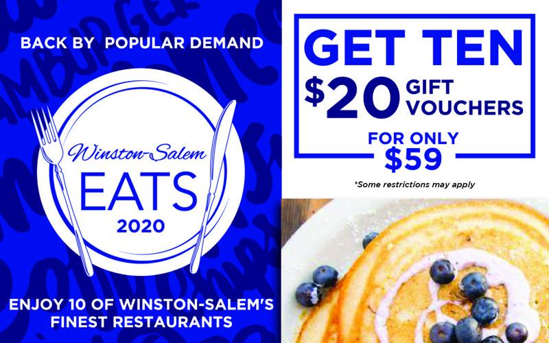 Winston-salem Eats - WS EATS- $200 in Gift Certificates for $59