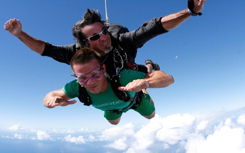 Skydive Atlas - Summer Sensation! Tandem Skydive for $130.00