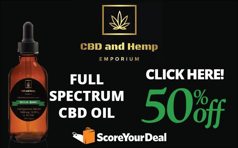 Sativa Queen - 50% OFF 1000mg Full Spectrum CBD Oil