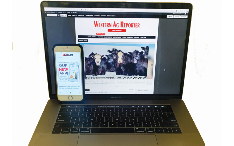 Western Ag Reporter - 1-Year Online Subscription to Western Ag Reporter