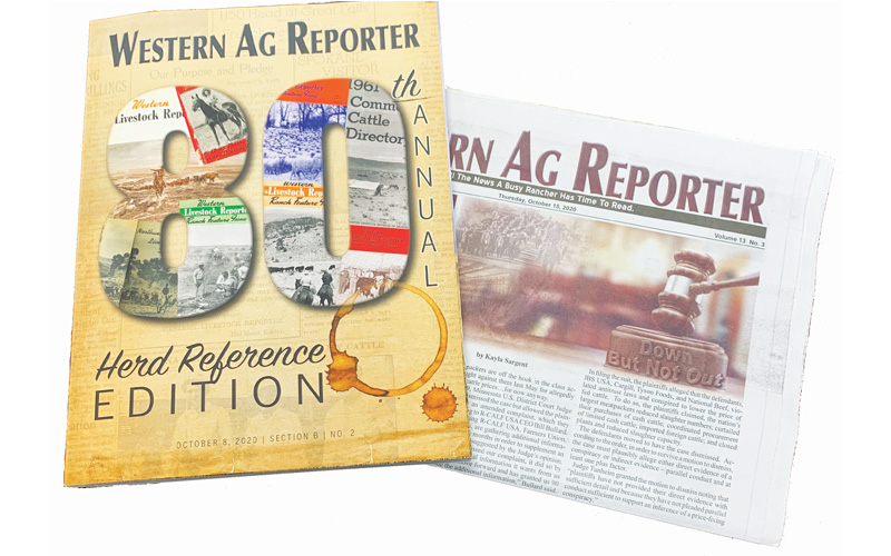 Western Ag Reporter - 1-Year Print + Online Subscription to Western Ag Reporter