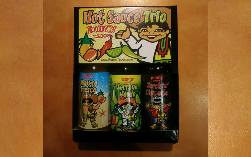 Rudy's Tacos - Rudy's Hot Sauce Tri Pack